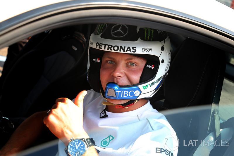 Valtteri Bottas, Mercedes AMG F1, w Mercedesie AMG