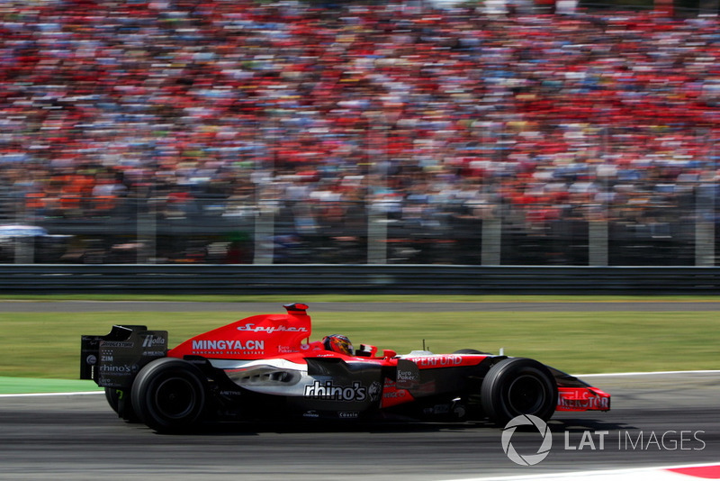 Tiago Monteiro, Spyker MF1 Racing M16