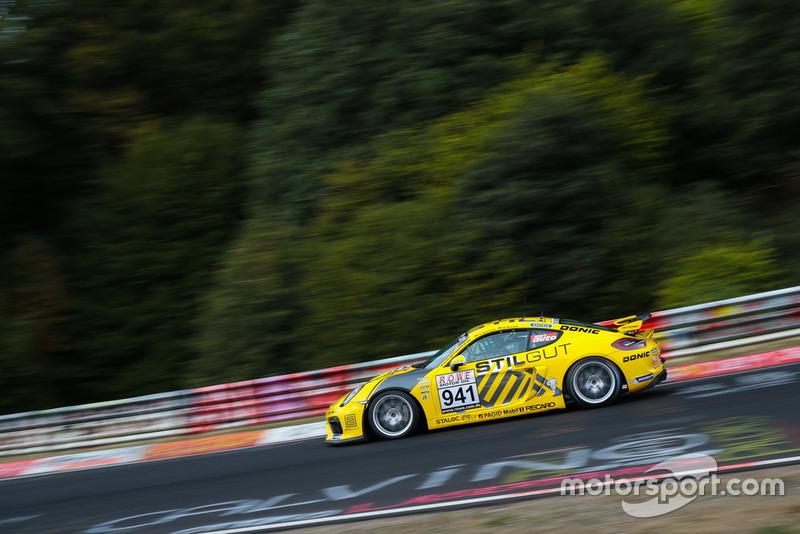 #941 Porsche Cayman GT4 CS: Carrie Schreiner, Daniel Mursch