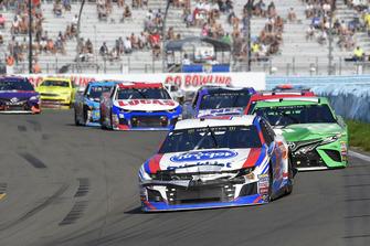A.J. Allmendinger, JTG Daugherty Racing, Chevrolet Camaro Kroger ClickList, Kyle Busch, Joe Gibbs Racing, Toyota Camry M&M's Flavor Vote Winner