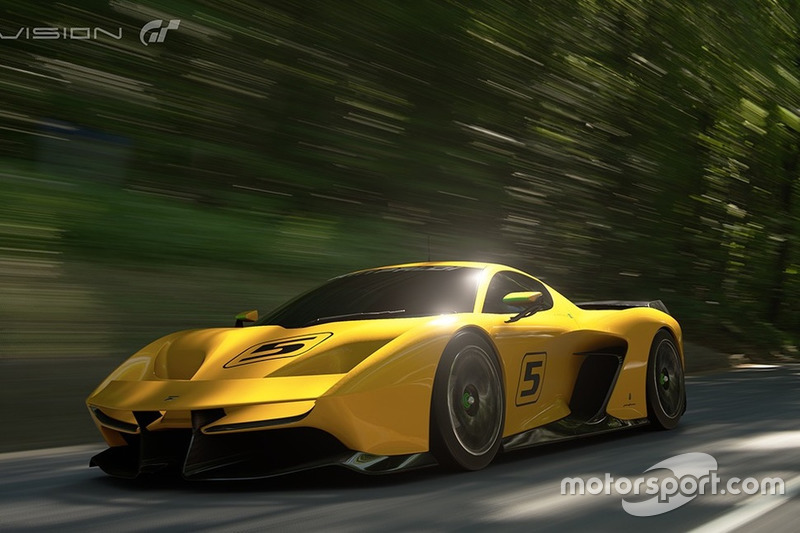 Fittipaldi EF7 Vision Gran Turismo by Pininfarina (april 2017)