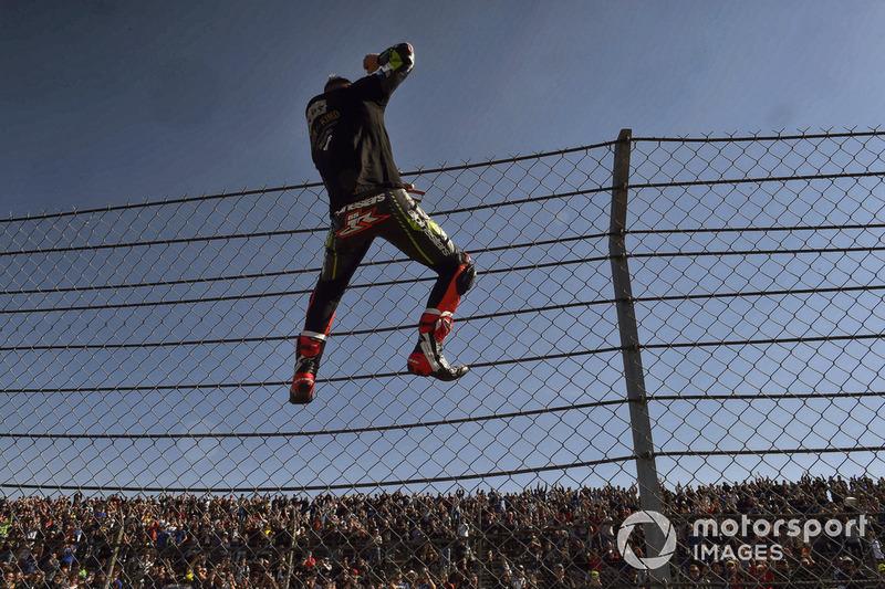 Jonathan Rea, Kawasaki Racing celebrates his 4th WSBK title