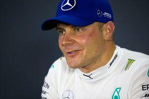 Valtteri Bottas, Mercedes AMG F1 in de persconferentie