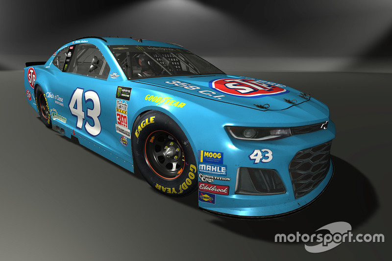 Darrell Wallace Jr., Richard Petty Motorsports, Chevrolet Camaro - NASCAR Heat 3 skin