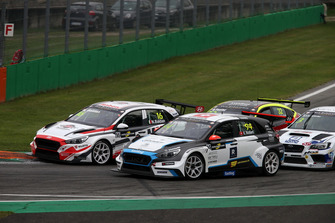 Kris Richard, Target Competition Hyundai i30 N TCR, Nicola Baldan, Pit Lane Competizioni Hyundai i30 N TCR