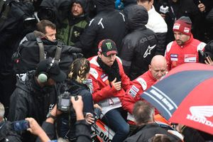 Jorge Lorenzo, Ducati Team, leaving Safety commission meeting
