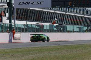 Bandiera a scacchi: #63 Lamborghini Huracan, Antonelli Motorsport: Zampieri-Altoè