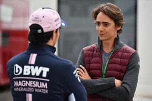 Sergio Perez, Racing Point Force India F1 Team et Esteban Gutierrez