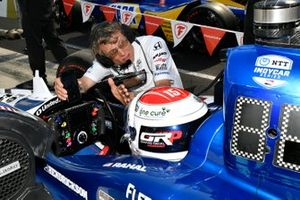 Graham Rahal, Rahal Letterman Lanigan Racing Honda with Ricardo Nault
