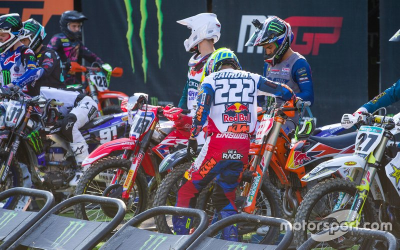 Tony Cairoli, Red Bull KTM Factory Racing en la salida