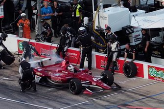 Ed Carpenter, Ed Carpenter Racing Chevrolet, pit stop