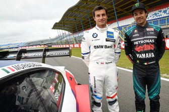 Franco Morbidelli, Petronas Yamaha SRT and Bruno Spengler, BMW M4 DTM