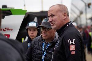 L'équipe de Colton Herta, Harding Steinbrenner Racing Honda