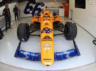 El McLaren de Alonso para las 500 Millas de Indianápolis 2019