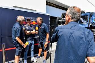 Pierre Gasly, Red Bull Racing speaks to the media
