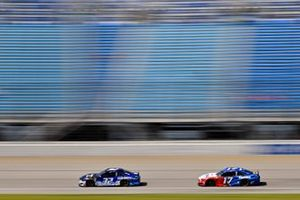 Corey LaJoie, Go FAS Racing, Ford Mustang Coin Lotto and Ricky Stenhouse Jr., Roush Fenway Racing, Ford Mustang Fastenal