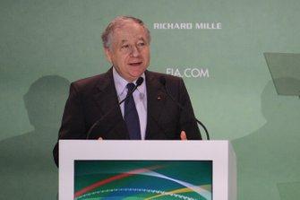 Jean Todt, FIA President at the FIA Conference