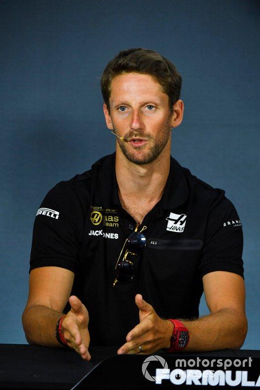 Romain Grosjean, Haas F1 inPress Conference