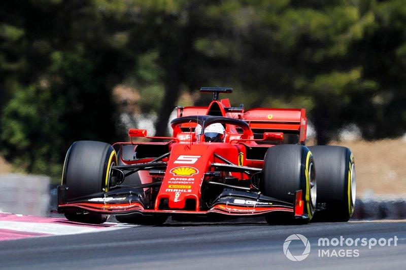 Le Castellet: Sebastian Vettel (Ferrari)