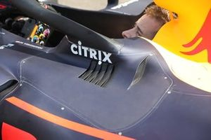 Red Bull Racing RB15 side cockpit detail