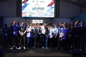 Competitors in the the Le Mans Esports Series Final