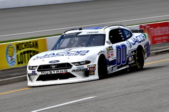 Cole Custer, Stewart-Haas Racing, Ford Mustang Jacob Companies pits for fuel