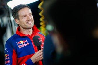 سيباستيان أوجييه، فريق سيتروين العالمي للراليات