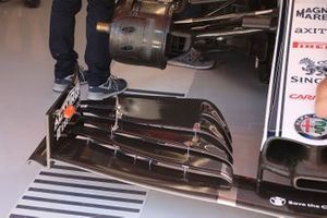 Alfa Romeo Racing technical detail