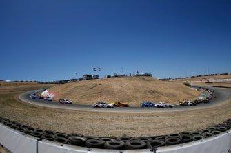 Joey Logano, Team Penske, Ford Mustang Shell Pennzoil Brad Keselowski, Team Penske, Ford Mustang America's Tire