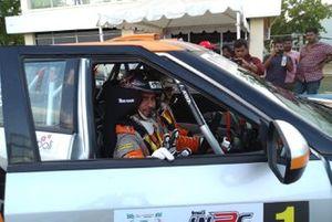 Gaurav Gill and Musa Sherif, Mahindra Adventure XUV300
