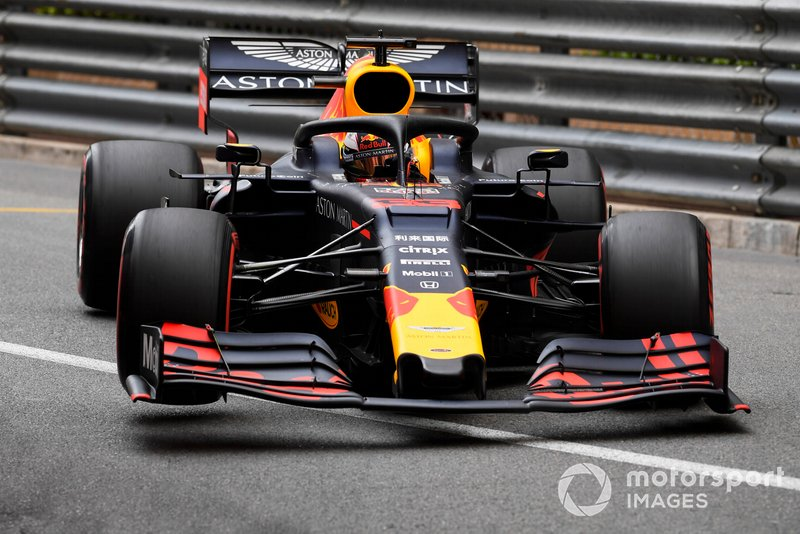 3: Max Verstappen, Red Bull Racing RB15, 1'10.641