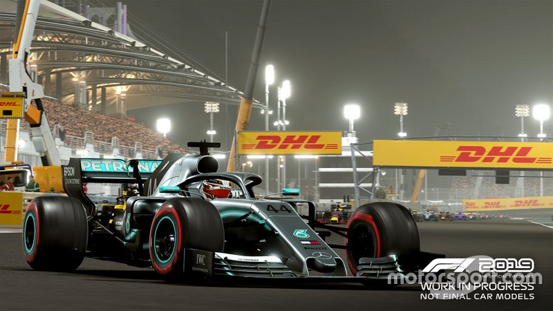 Mercedes de Lewis Hamilton