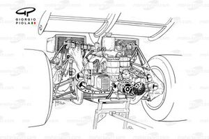 Ferrari 312B2 extremo trasero