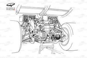 Ferrari 312B2 arka bölüm