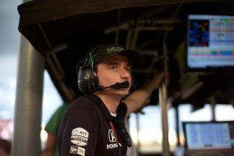 Colton Herta, Harding Steinbrenner Racing Honda, George Michael Steinbrenner