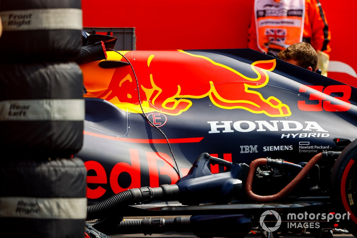 Monoplaza de Max Verstappen, Red Bull Racing RB16