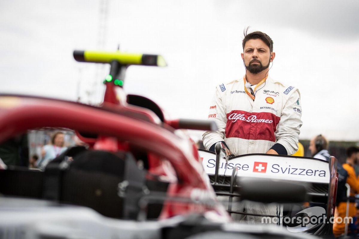 Tiago Conte Fadel - Mecânico da Alfa Romeo