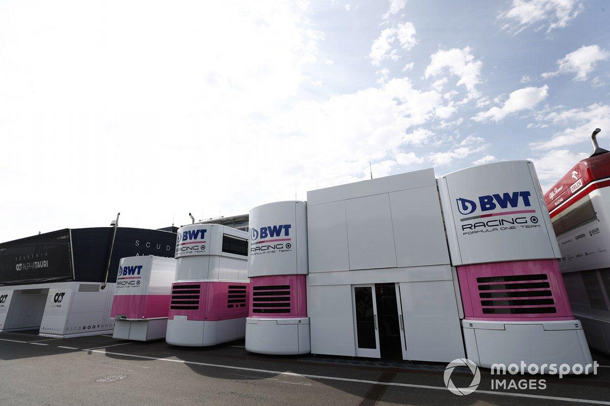 Camiones de Racing Point