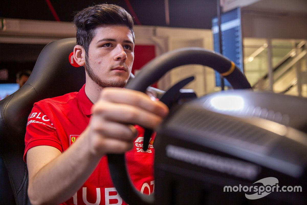 David Tonizza, Ferrari eSport