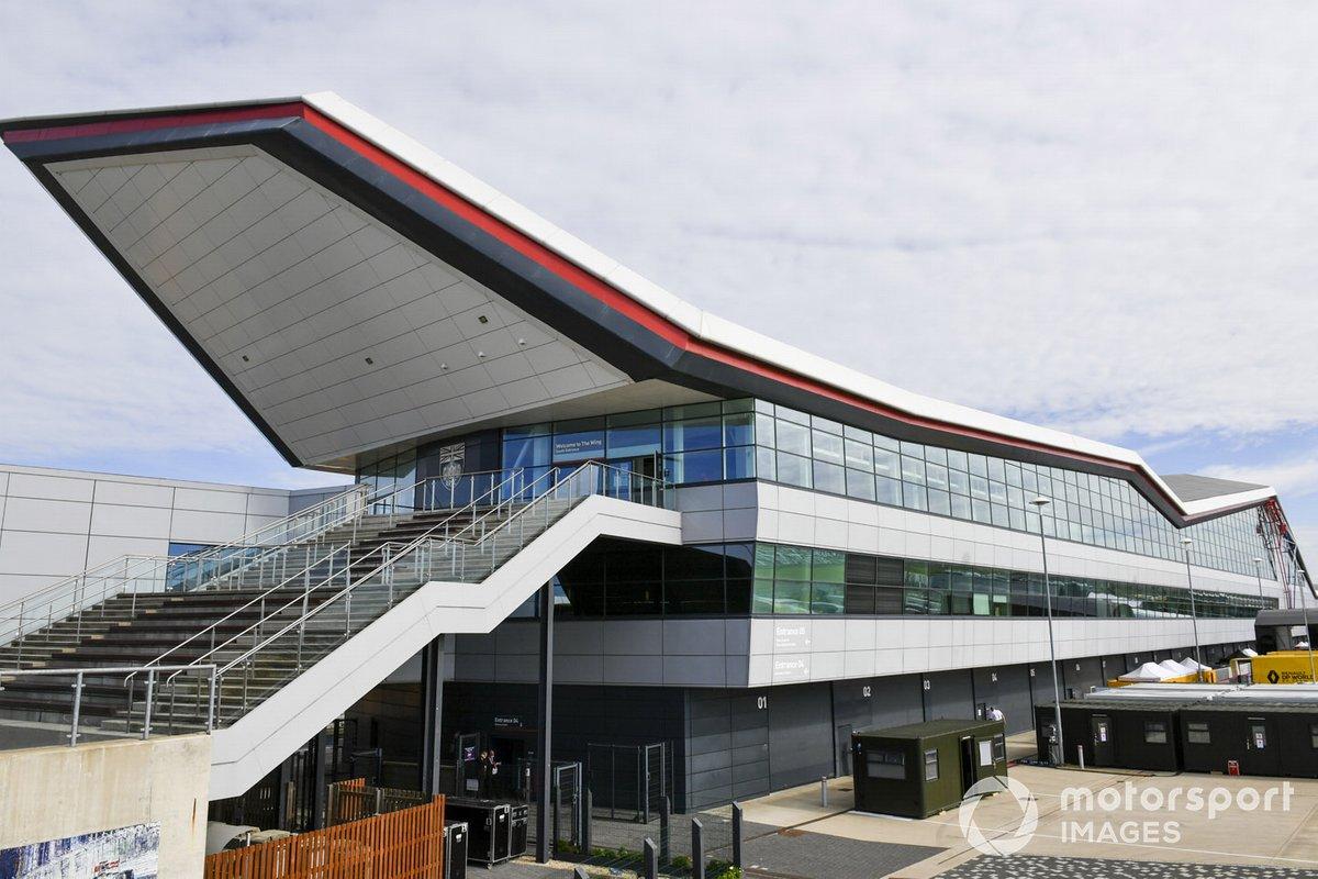 Edificio The Wing en Silverstone