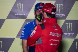Andrea Dovizioso, Ducati Team, Joan Mir, Team Suzuki MotoGP