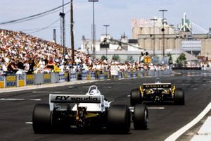 Keke Rosberg, Williams FW08 Ford, Alain Prost, Renault RE30B