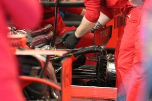 Suspensión trasera del Ferrari SF1000