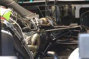 Mercedes AMG F1 W11 radiators layout