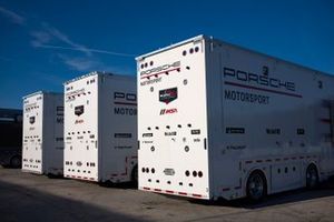 Renntransporter: Porsche GT Team