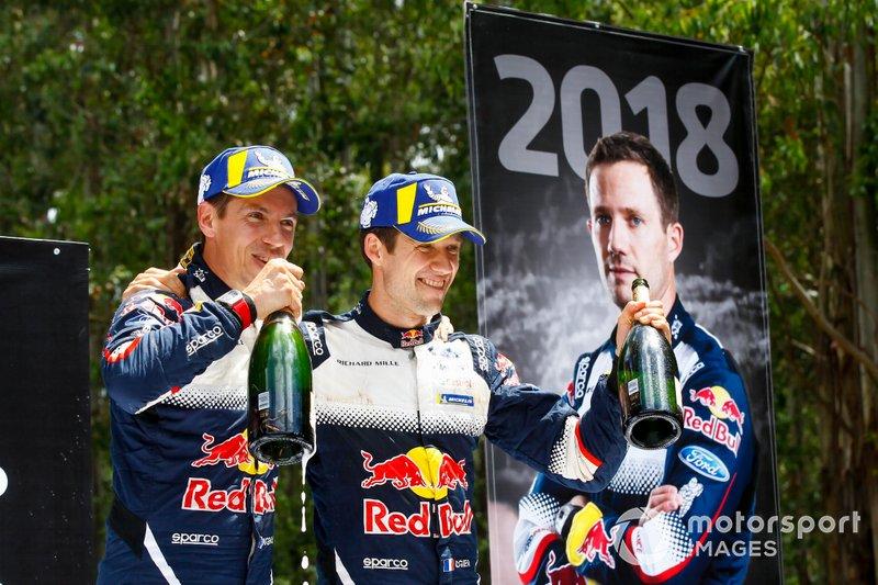2018 muss Ogier härter denn je um den Titel kämpfen. Vor allem dank seiner Konstanz und einer starken zweiten Saisonhälfte setzt er sich aber gegen Thierry Neuville durch und wird zum sechsten Mal WRC-Champion.