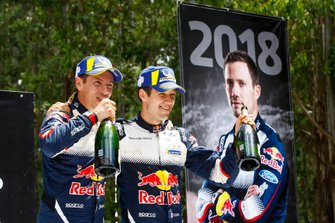 Sébastien Ogier et Julien Ingrassia, M-Sport Ford, Ford Fiesta WRC 2018, Champions du monde