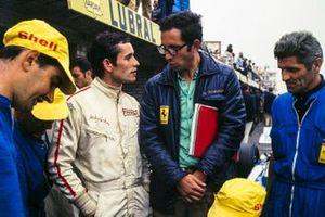 Jacky Ickx, Ferrari, mit Mauro Forghieri