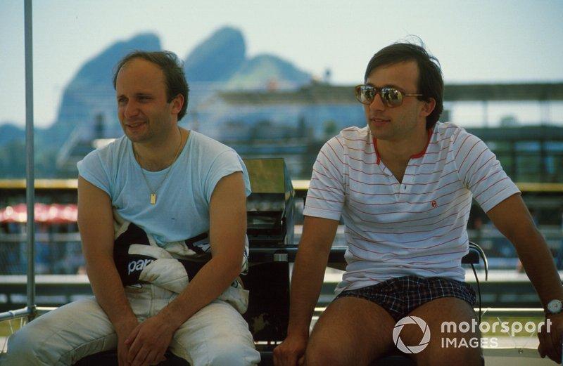The brothers Teo Fabi and Corrado Fabi