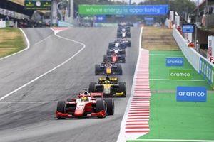 Mick Schumacher, Prema Racing and Guanyu Zhou, UNI-VIRTUOSI